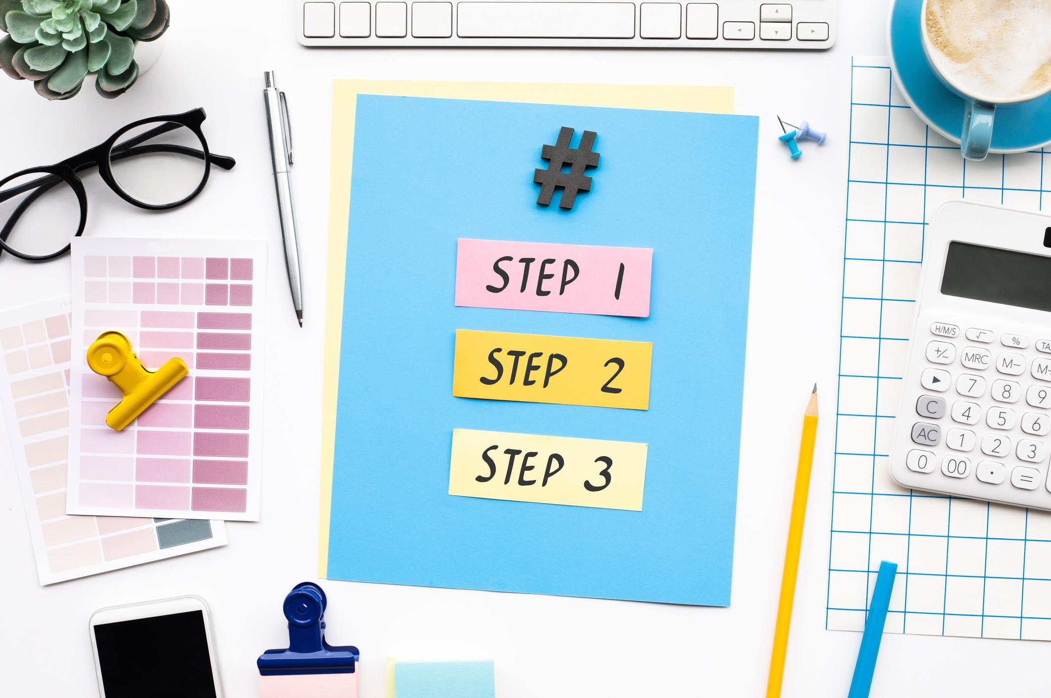 Steps to success demand channels